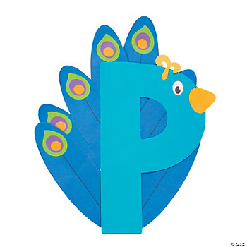 P Is For Peacocks Craft Kit