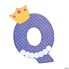 """Q Is For Queens"" Letter Q Craft Kit"