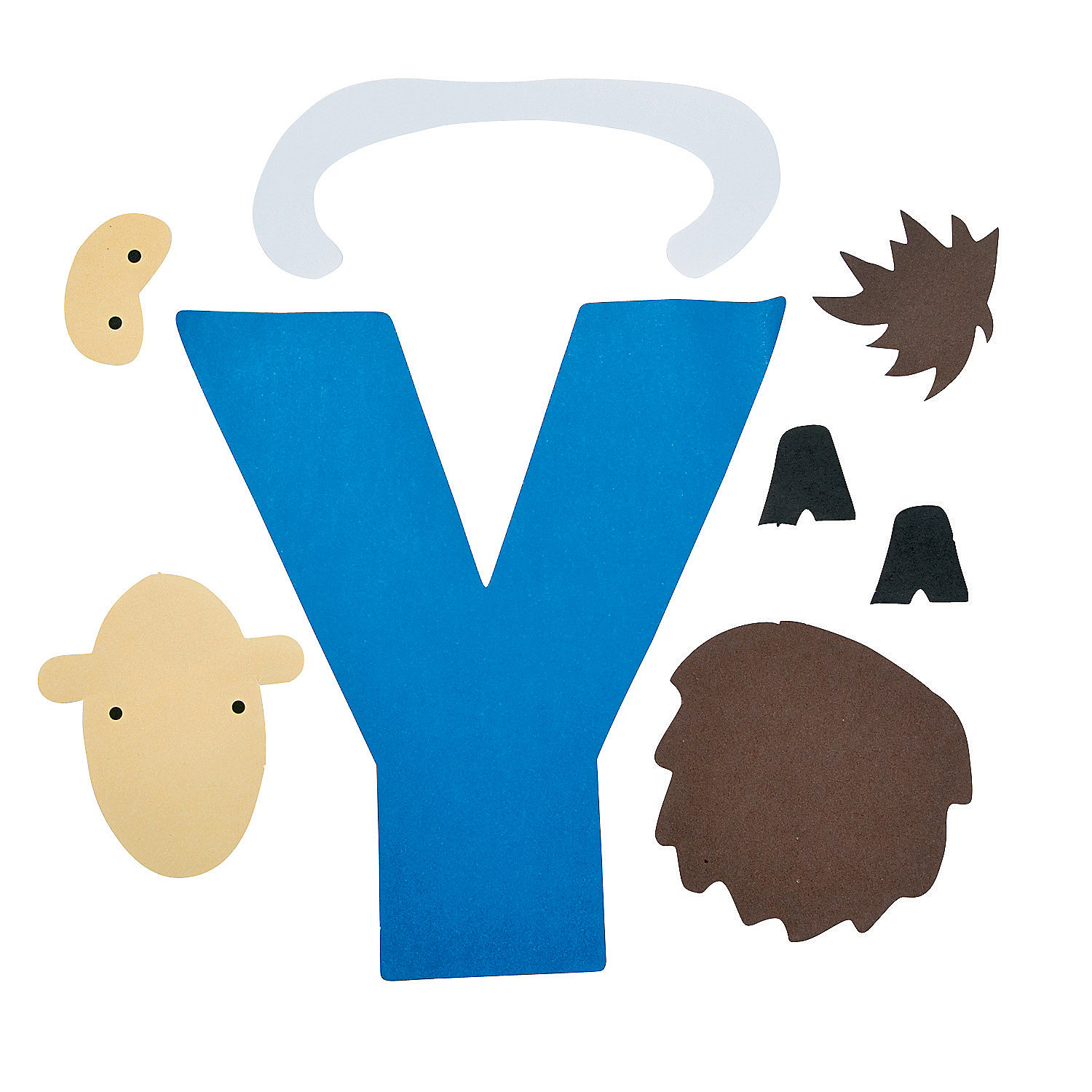 Is for yaks letter y craft kit oriental trading