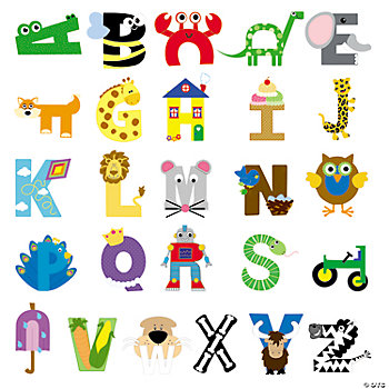 Buy all Alphabet Craft Kits and Save!