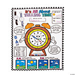 "Color Your Own ""It's All About Telling Time"" Posters"