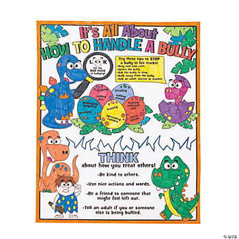 Color Your Own All About Anti-Bullying Posters
