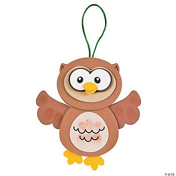 Thumbprint Owl Craft Kit