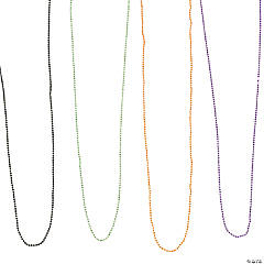 Halloween Ball Chain Necklaces