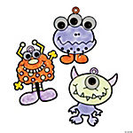 Wiggle Eye Monster Sun Catchers