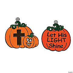 Christian Pumpkin Suncatchers