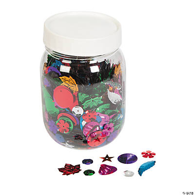 Mega Glittering Confetti Assortment