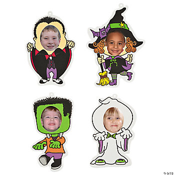 Halloween Character Photo Frames