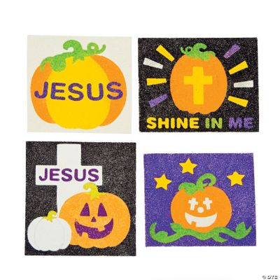 Christian Pumpkin Sand Art Craft Kit