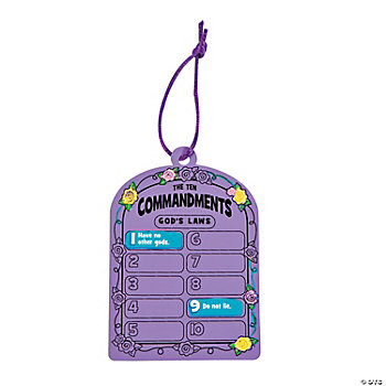 Craft Ideas Commandments on Ten Commandments    Magic Color Scratch Tablets   Oriental Trading