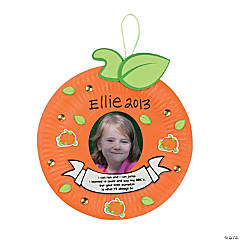 Paper Plate Pumpkin Poem Craft Kit