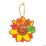Fall Sunflower Ornament Craft Kit