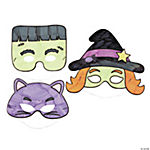 Color Your Own Halloween Masks