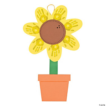 Sunflower Handprint Craft Kit