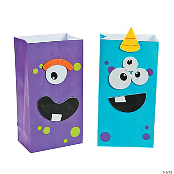 Monster Treat Bag Craft Kit