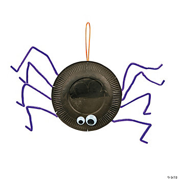 Paper Plate Spider Craft Kit