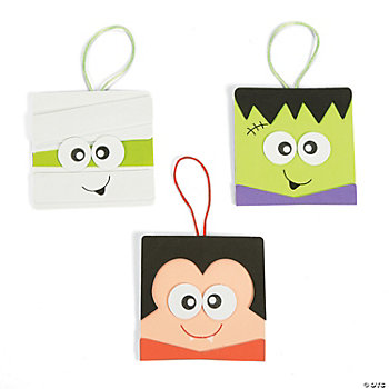Simple Halloween Character Ornaments Craft Kit
