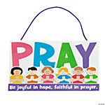 Pray Sign With Verse Craft Kit