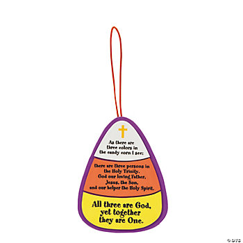 Candy Corn Trinity Craft Kit