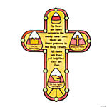 Color Your Own Candy Corn Trinity Cutouts