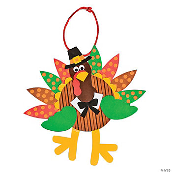 Turkey Ornament Craft Kit