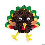 Pom-Pom Turkey Craft Kit