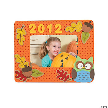 2012 Fall Photo Frame Magnet Craft Kit