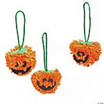 Fall Pumpkin Pom-Pom Ornament Craft Kit