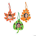 Fall Leaf Photo Frame Ornament Craft Kit