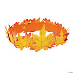Fall Leaf Crown Craft Kit - Makes 12