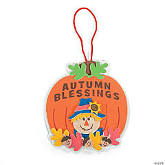 """Autumn Blessings"" Ornament Craft Kit"