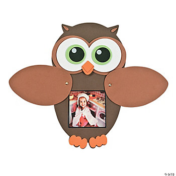 Owl Peek-A-Boo Photo Frame Craft Kit