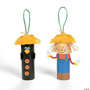 Scarecrow & Crow Roll Craft Kit