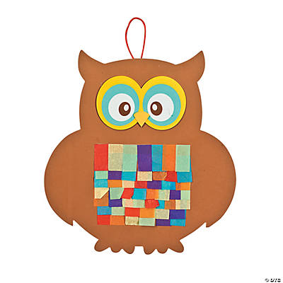 Tissue Paper Owl Craft Kit