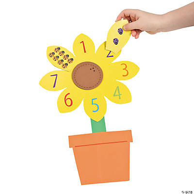 Counting Sunflower Craft Kit