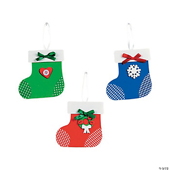 Stocking Ornament Craft Kit