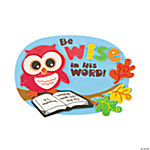 Inspirational Wise Owl Magnet Craft Kit