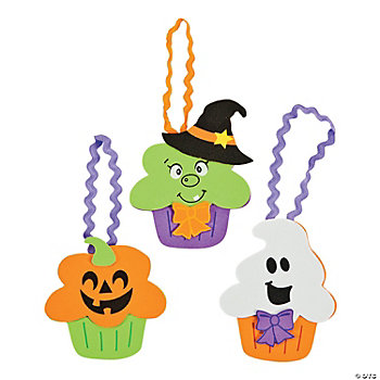 Halloween Character Cupcake Ornament Craft Kit
