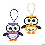 Halloween Owl Ornament Craft Kit