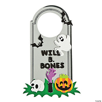 Tombstone Door Hanger Craft Kit