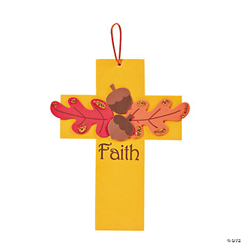 Fall Christian Crafts Toddlers http://www.orientaltrading.com/fall-faith-cross-craft-kit-a2-48_8324.fltr