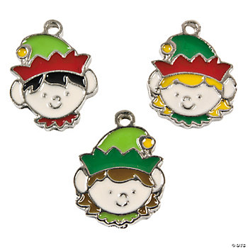 Elf Enamel Charms