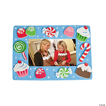 Holiday Sweet Treat Photo Frame Magnet Craft Kit