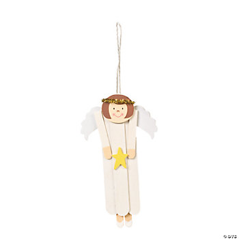 Angel Craft Stick Ornament Craft Kit