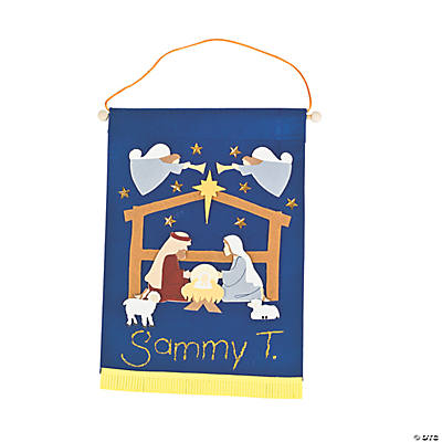 Nativity Banner Craft Kit