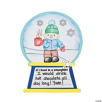 """If I Lived in A Snowglobe"" Story Craft Kit"