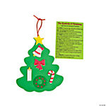 Symbols Of Christmas Ornament Craft Kit