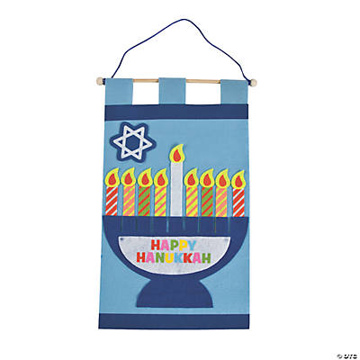 Hanukkah Banner Craft Kit