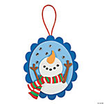 Snowing Snowman Ornament Craft Kit
