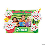 """Happy Birthday Jesus!"" Cupcake Photo Magnet Craft Kit"